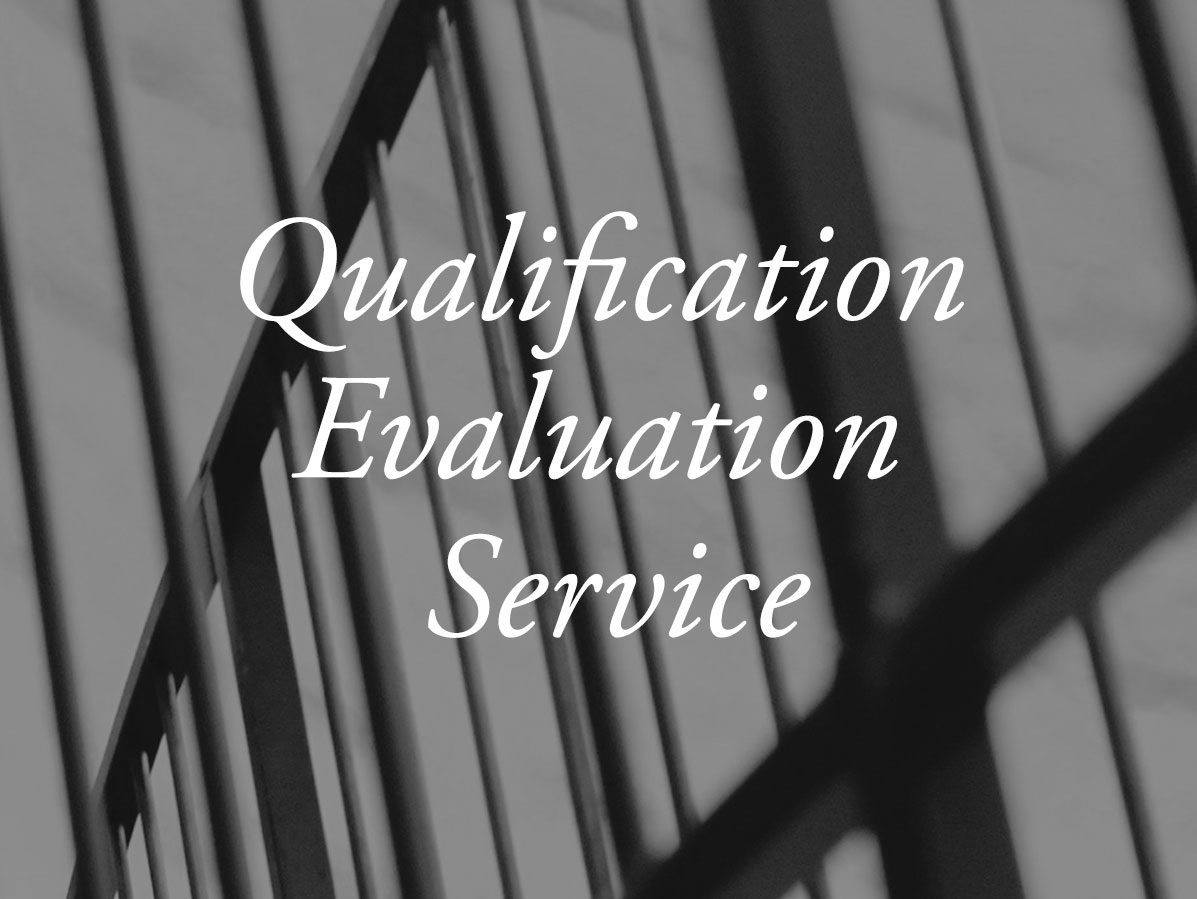 Qualification Evaluation Service