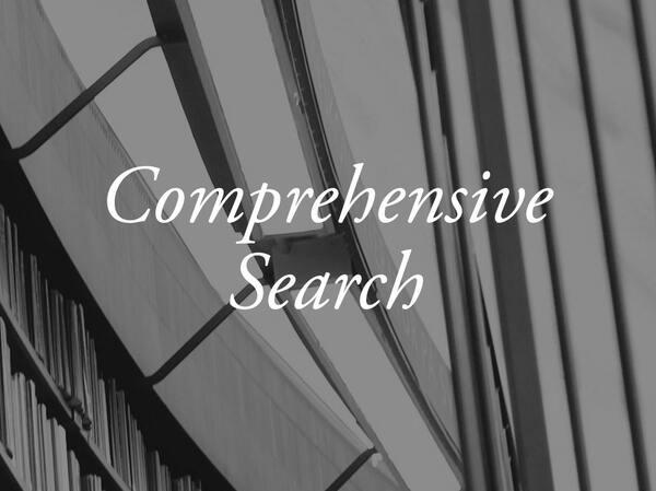 Comprehensive Search