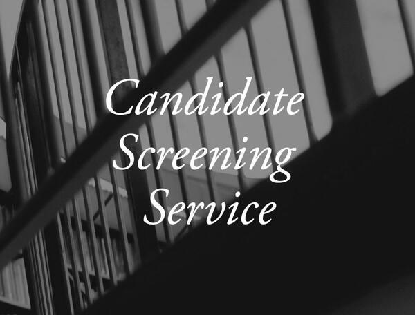 Candidate Screening Service